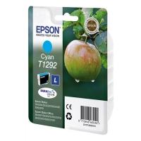 Оригинальный картридж EPSON T1292  (530 стр., голубой)