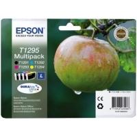 Комплект оригинальных картриджей EPSON T1295 (450 стр., черный + голубой + пурпурный + желтый)