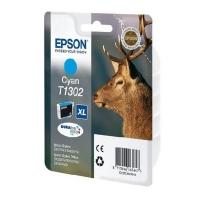 Оригинальный картридж EPSON T1302 (805 стр., голубой)