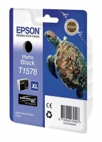 Оригинальный картридж EPSON T1578 (25,9 мл., черный матовый)