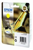 Оригинальный картридж EPSON 16 (165 стр., желтый)