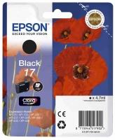 Оригинальный картридж EPSON 17 (130 стр., черный)