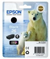 Оригинальный картридж EPSON 26 (220 стр., черный)