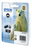 Оригинальный картридж EPSON 26XL (400 стр., черный)
