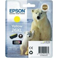 Оригинальный картридж EPSON 26XL (700 стр., желтый)