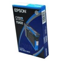 Оригинальный картридж EPSON T5432 (110 мл., голубой)