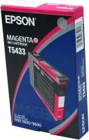 Оригинальный картридж EPSON T5433 (110 мл., пурпурный)