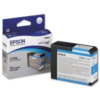 Оригинальный картридж EPSON T5802 (80 мл., голубой)