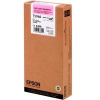 Оригинальный картридж EPSON T5966 (350 мл., светло-пурпурный насыщенный)
