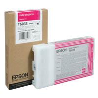 Оригинальный картридж EPSON T6033 (220 мл., пурпурный насыщенный)