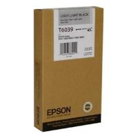 Оригинальный картридж EPSON T6039 (220 мл., светло-серый)