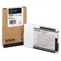 Оригинальный картридж EPSON T6051-пр (110 мл., черный фото)