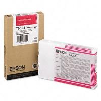 Оригинальный картридж EPSON T6053 (110 мл., пурпурный)