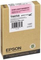 Оригинальный картридж EPSON T6056 (220 мл., светло-пурпурный насыщенный)