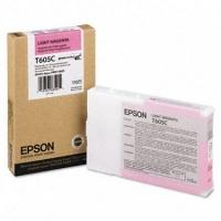 Оригинальный картридж EPSON T605C (110 мл., светло-пурпурный)