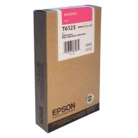 Оригинальный картридж EPSON T6123 (220 мл., пурпурный)