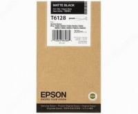 Оригинальный картридж EPSON T6128 (220 мл., черный матовый)