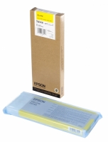 Оригинальный картридж EPSON T6144 (220 мл., желтый)