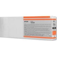 Оригинальный картридж EPSON T636A (700 мл., оранжевый)