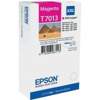 Оригинальный картридж EPSON T7013 (3400., пурпурный)