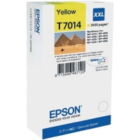 Оригинальный картридж EPSON T7014 (3400 стр., желтый)