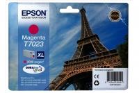 Оригинальный картридж EPSON T7023 (2000 стр., пурпурный)
