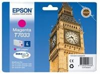 Оригинальный картридж EPSON T7033 (800 стр., пурпурный)