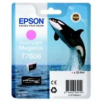Оригинальный картридж EPSON T7606 (26 мл., светло-пурпурный)