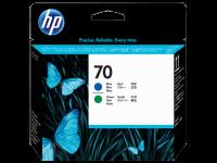 Оригинальный картридж HP C9408A (16000 стр., голубой + зеленый)