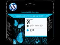 Оригинальный картридж HP C9460A (775 мл., черный матовый + голубой)