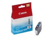 Оригинальный картридж CANON CLI-8C (490 стр., голубой)