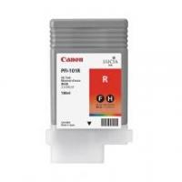 Оригинальный картридж CANON PFI-101R (130 мл., красный)