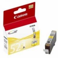 Оригинальный картридж CANON CLI-521Y (300 стр., желтый)