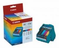 Оригинальный картридж CANON BC-33 (3000 стр., цветной)