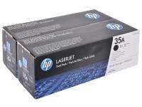 Оригинальный картридж HP CB435AF (черный, 2 * 3000 стр.)