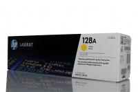 [Уценка] Оригинальный картридж HP CE322A (1300 стр., желтый)