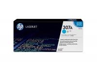Оригинальный картридж HP CE741A (7300 стр., голубой)