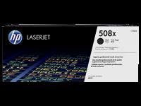 Оригинальный картридж HP 508X (CF360X) (черный, 12500 стр.)