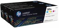 Оригинальный картридж HP CF370AM Tri-Pack (3 * 2600 стр., голубой + пурпурный + желтый)