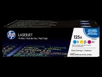 Оригинальный картридж  HP CF373AM (125A) (голубой/пурпурный/желтый, 1400 стр.)