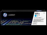 Оригинальный картридж HP CF401X увеличенной емкости (голубой, 2300 стр.)