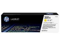 Оригинальный картридж HP CF402X увеличенной емкости (желтый, 2300 стр.)