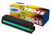 Оригинальный лазерный картридж Samsung CLT-Y504S(1800 стр., желтый)