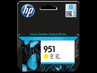 Оригинальный картридж HP CN052AE (951) (желтый, 700 стр.)