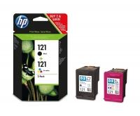 Оригинальный картридж HP CN637HE (200 + 165 стр., черный + цветной)