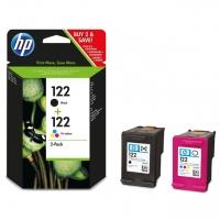 Оригинальный картридж HP CR340HE (120 + 100 стр., черный + цветной)
