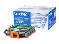 Оригинальный фотобарабан Brother DR130CL (17000 стр., черный + голубой + пурпурный + желтый)