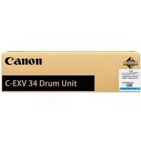 Оригинальный барабан Canon DU С-EXV34 C (10000 стр., голубой)