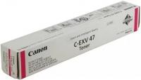Тонер CANON C-EXV47 TONER M EUR красный