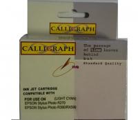 Струйный картридж Calligraph (300 стр., Светло-синий) для Epson Stylus Photo R270   R390